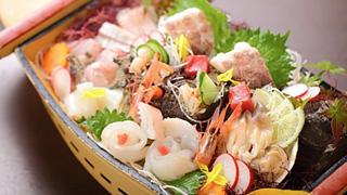 <<厳選食材>> 日本海ならでは!男鹿半島の地魚満載・二人から舟盛りプラン